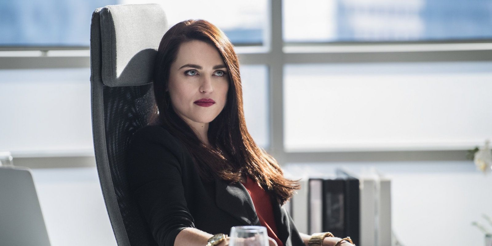 Lena Luthor from Supergirl portrayed by Katie McGrath