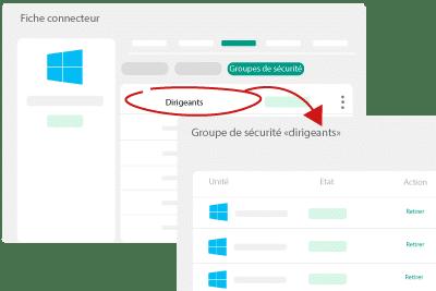 Visualisez l'ensemble des utilisateurs inscrits dans chaque groupe
