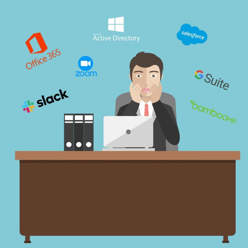 Donner trop de logiciels à un collaborateur