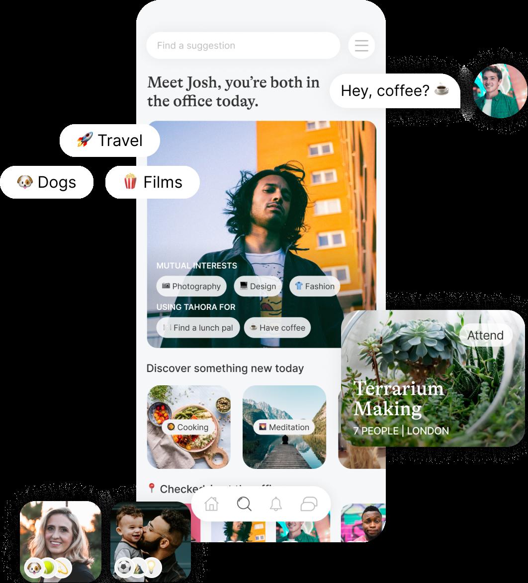 Tahora Mobile App