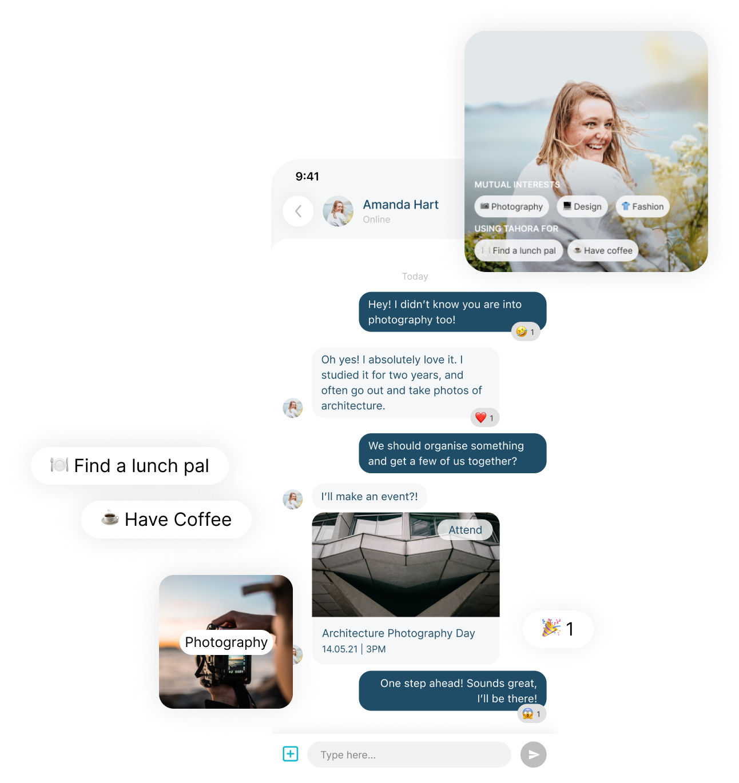 Tahora Messages