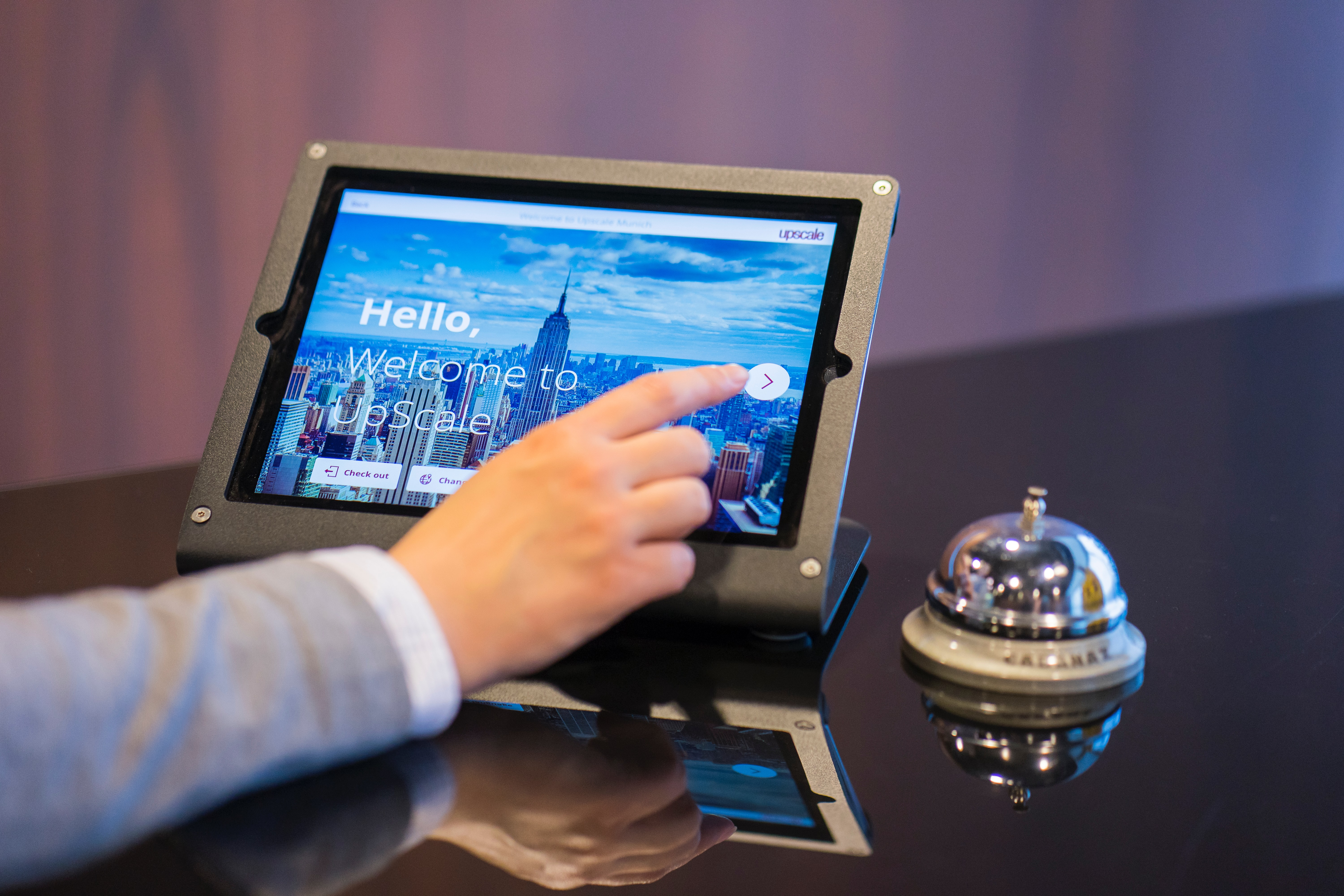 Tablet virtual assistant
