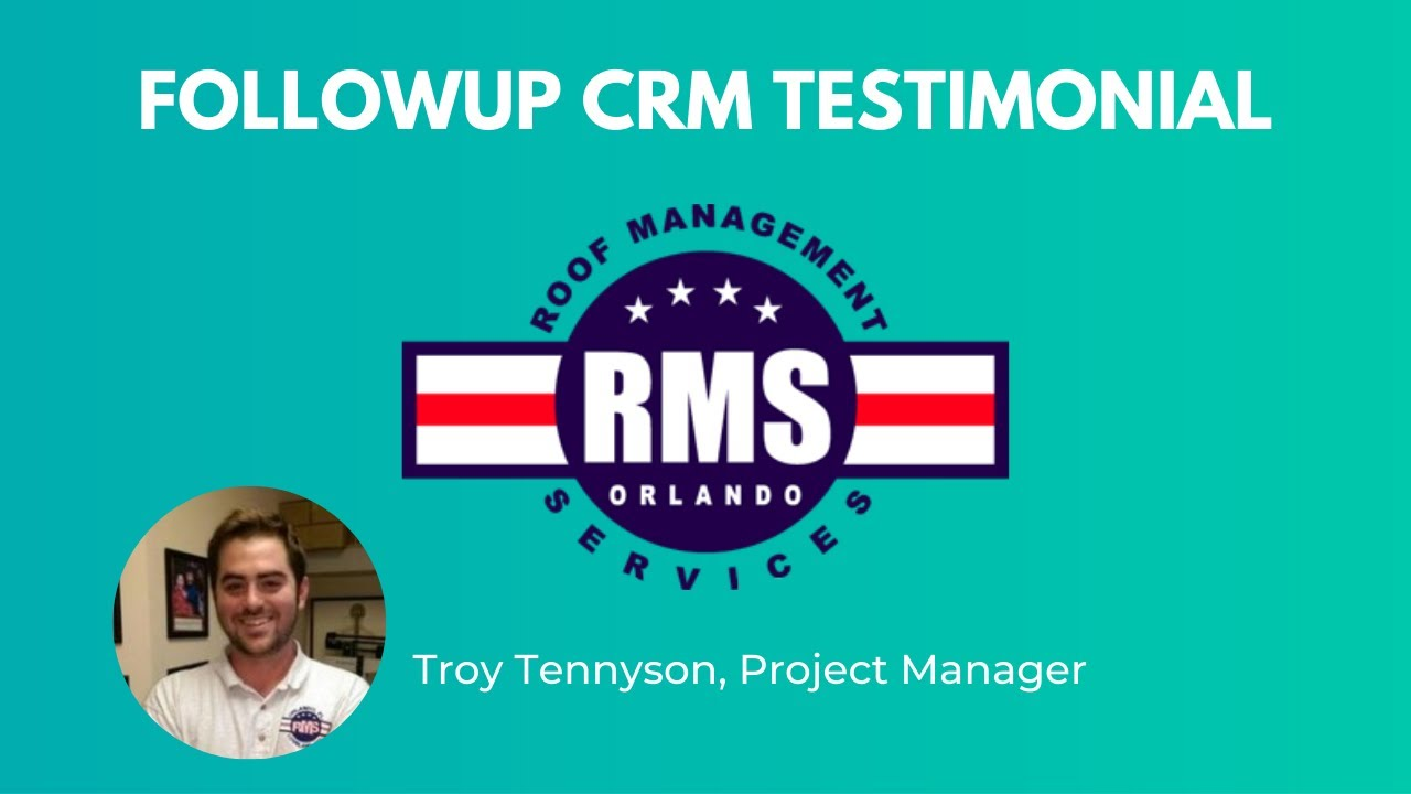 Followup CRM Testimonial From RMS Orlando