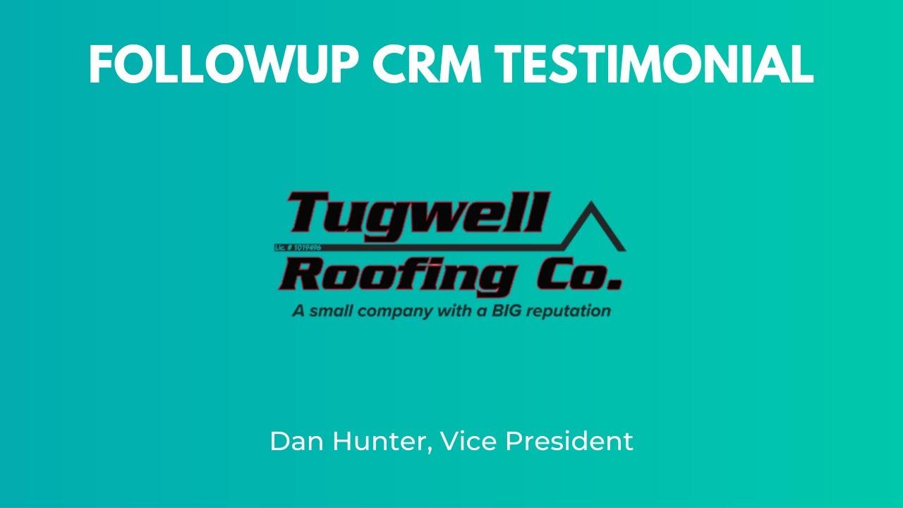 GAF Master Elite Testimonial - FollowUp Sales CRM for Contractors