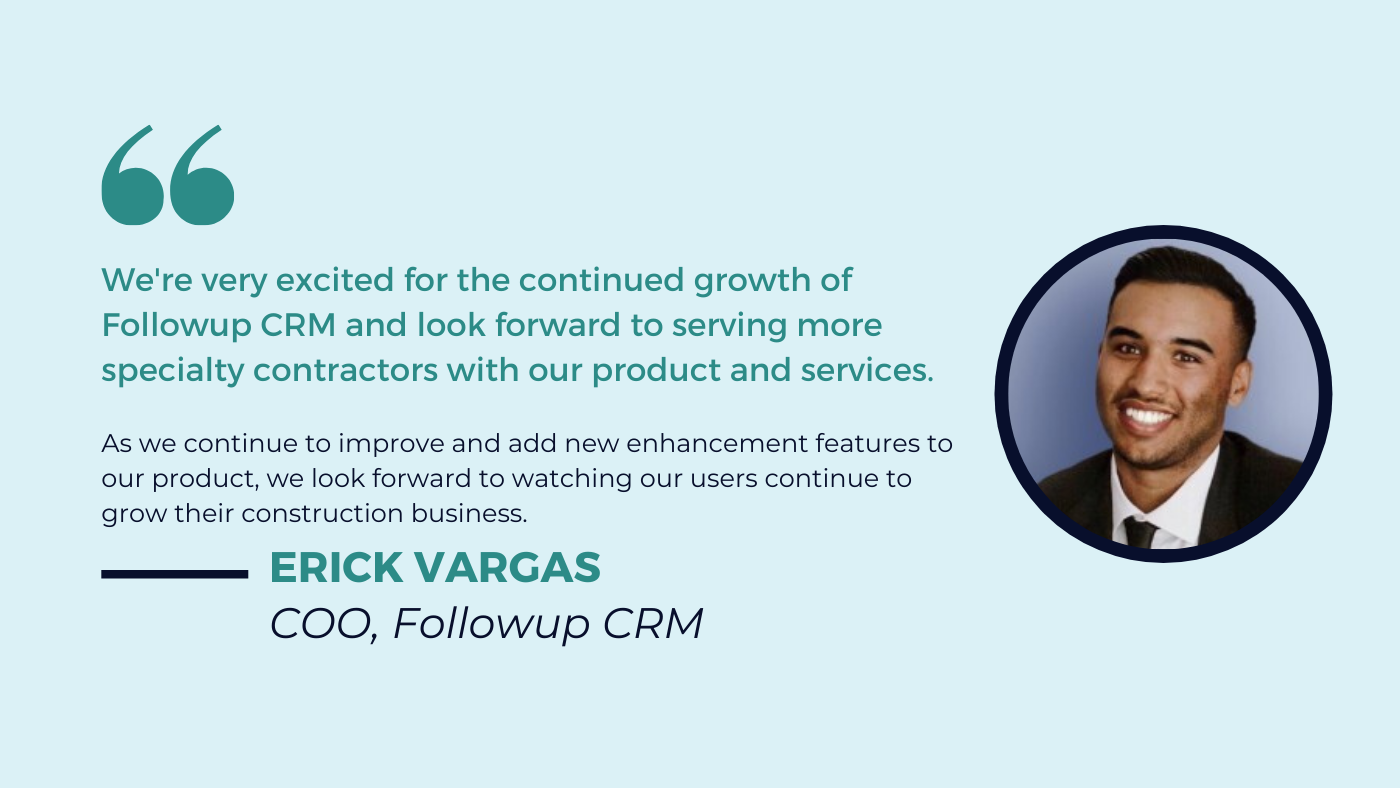Followup-CRM-Capterra-FrontRunner-Quote