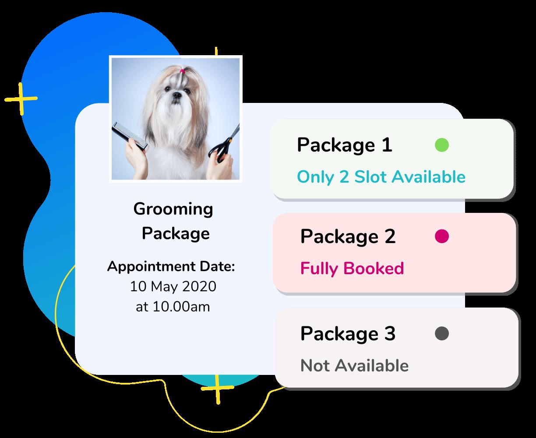 pet grooming booking