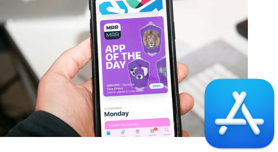 Image of MRRMRR app featured on the App store