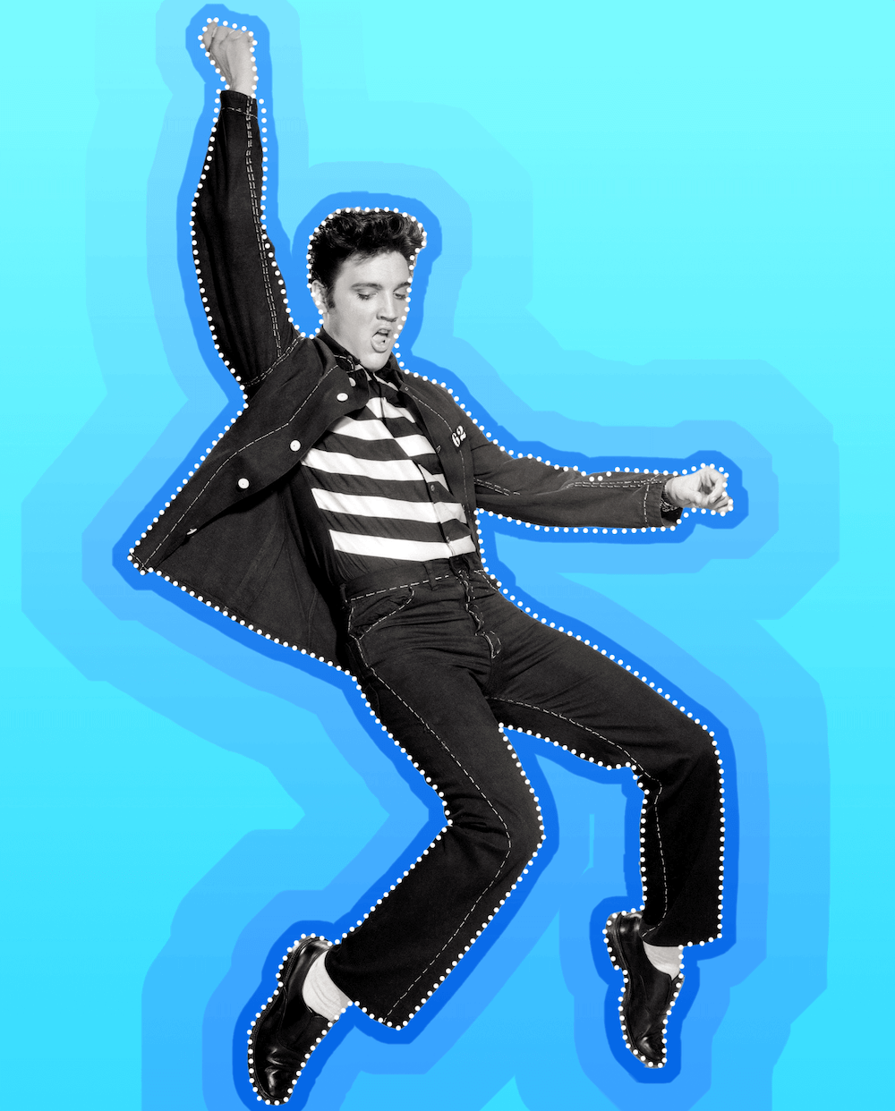 Body being segmented (Elvis!)