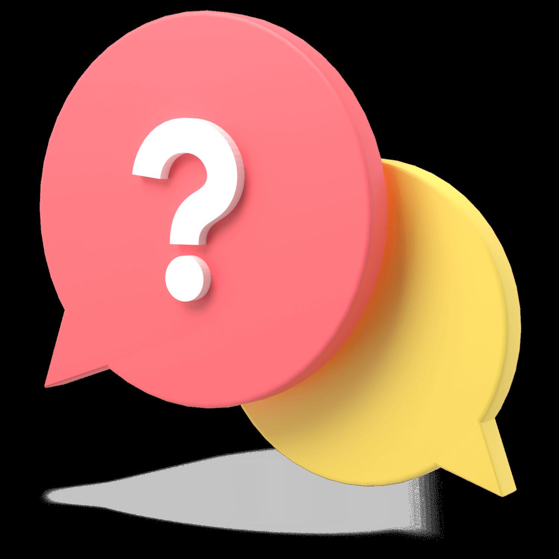 3D Conversation Icon