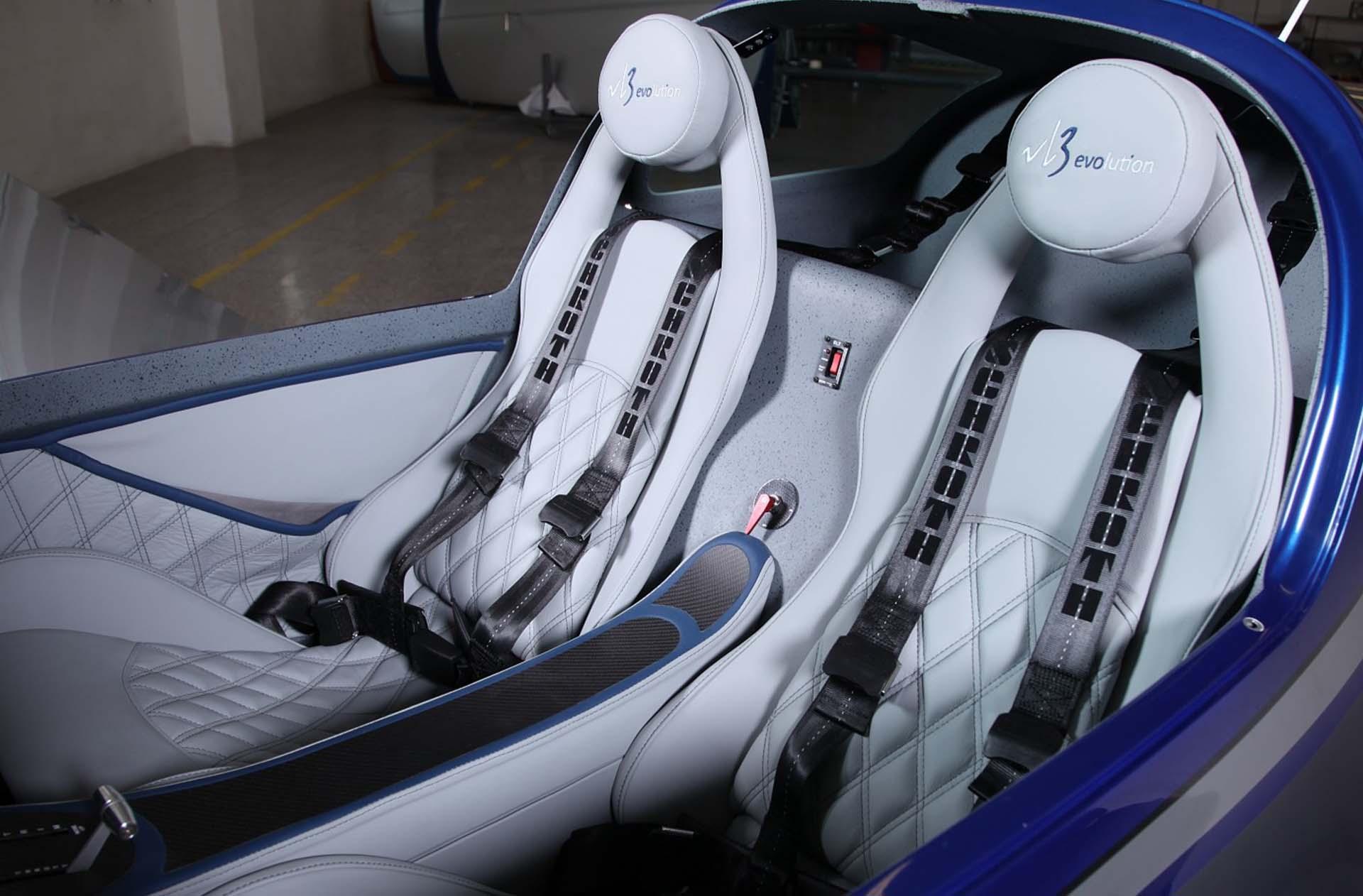 Design des sièges pour le VL3 evolution