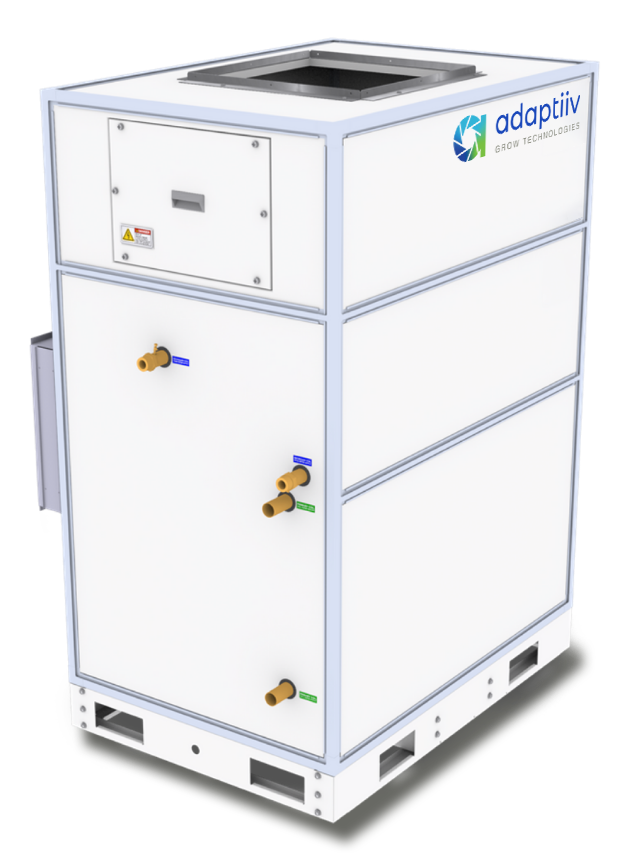The most innovative commercial cannabis HVACD system on the market.