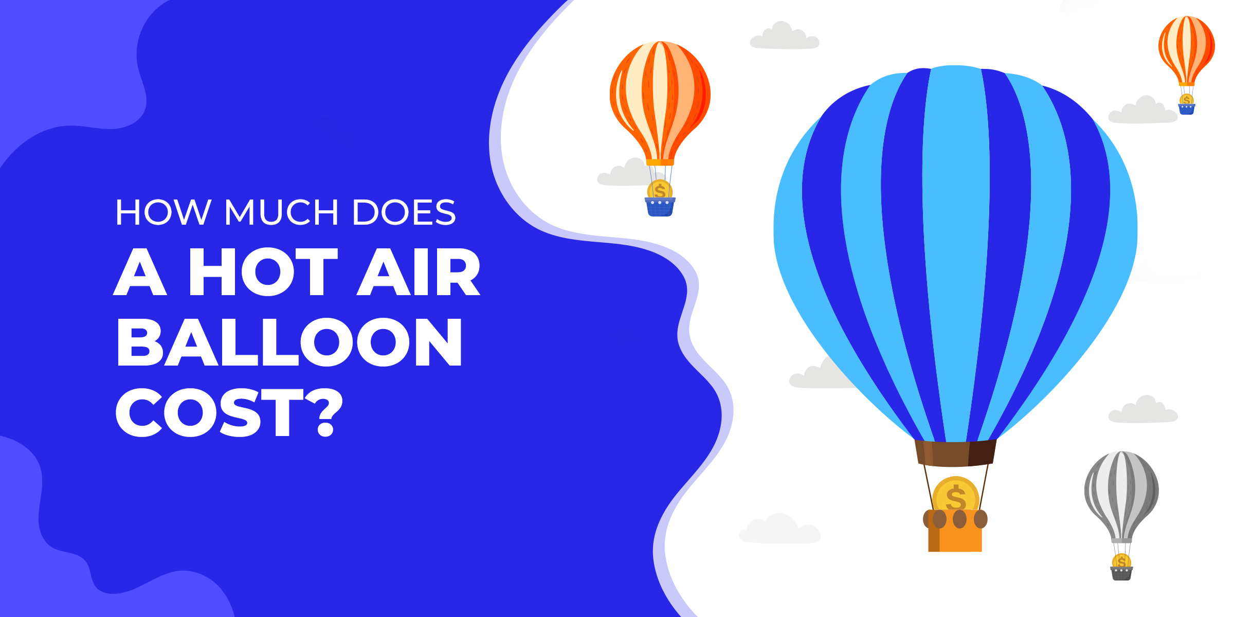 How much does a hot air balloon cost