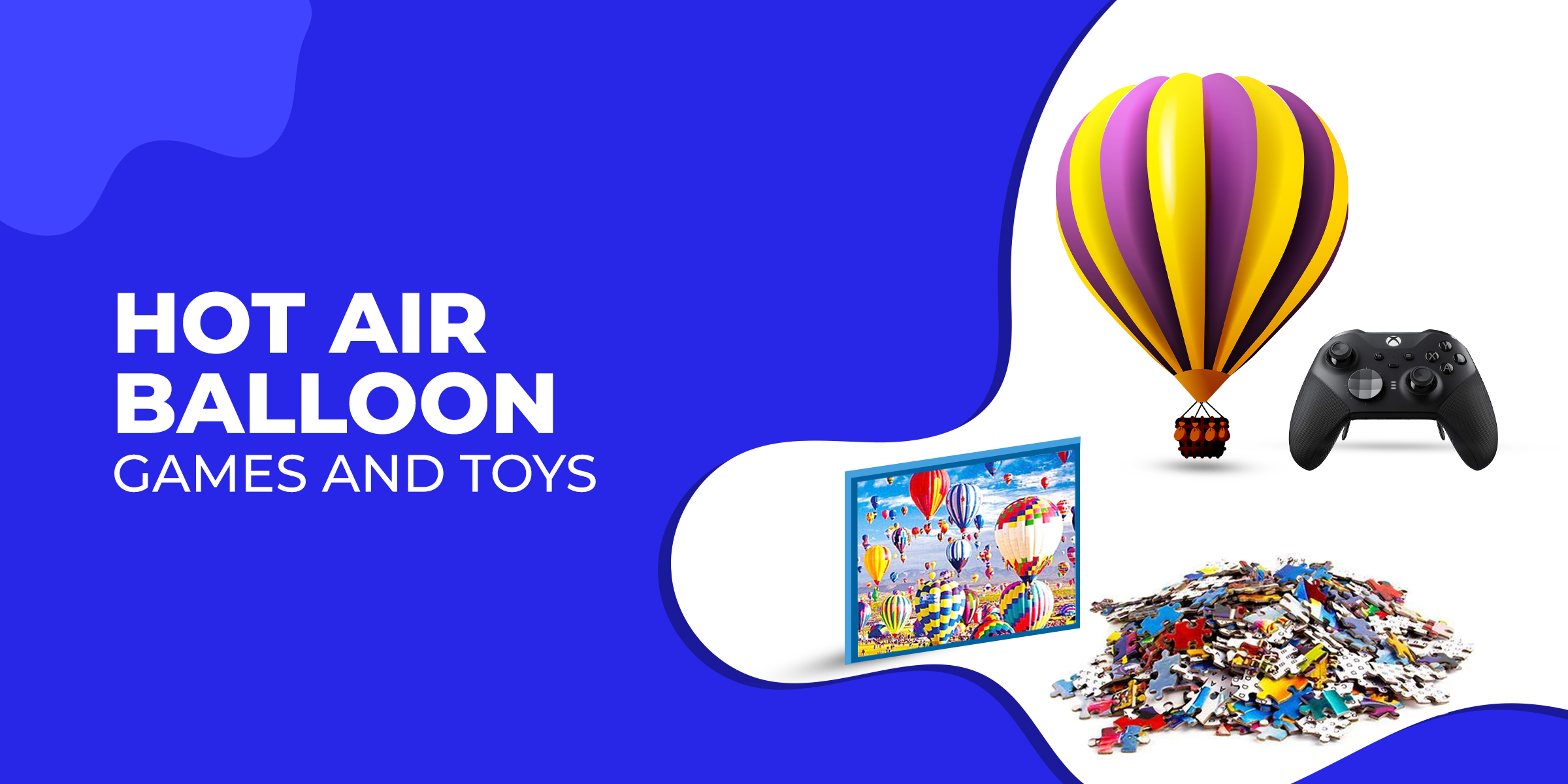 Hot air balloon games and toys