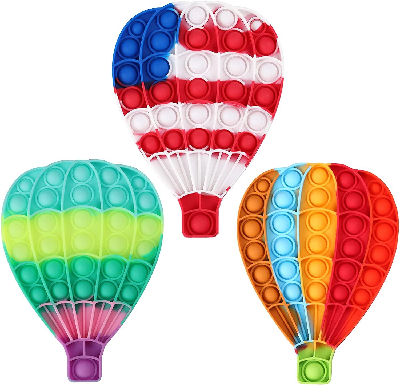 Hot air balloon bubble pop