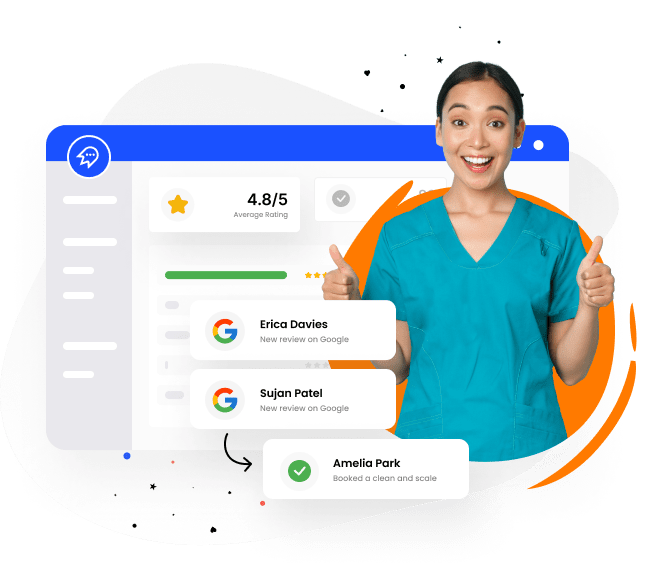 Get more reviews for dentists and orthodontists