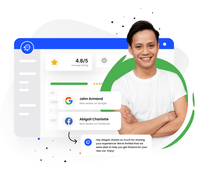 Reputation management tool that helps you monitor online reviews