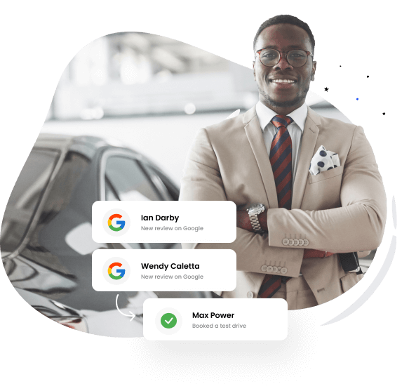 Get more reviews for auto dealerships