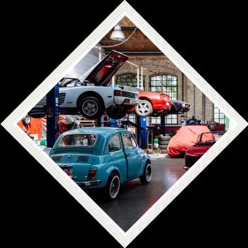 A car collection.