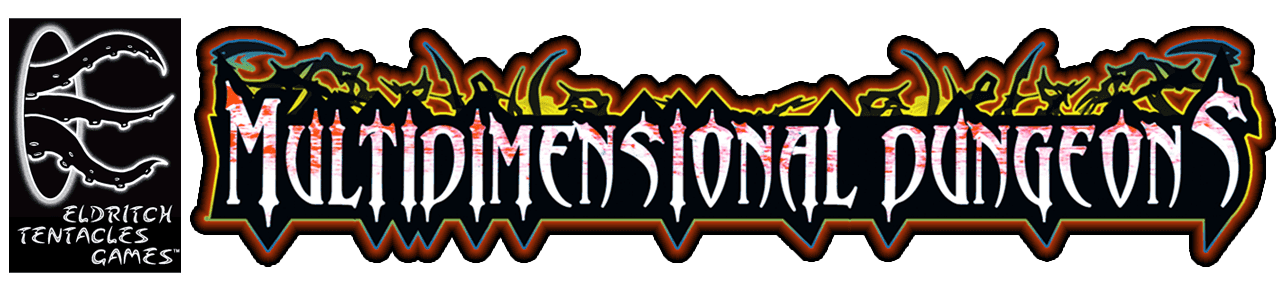 Larger Multidimensional Dungeons Logo.