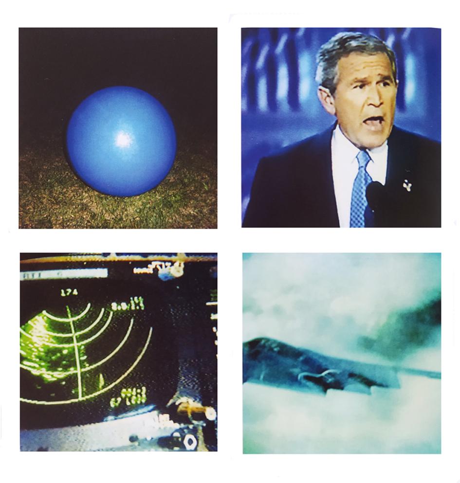 O.S. Scholten, DEST.the blue ball, 2002