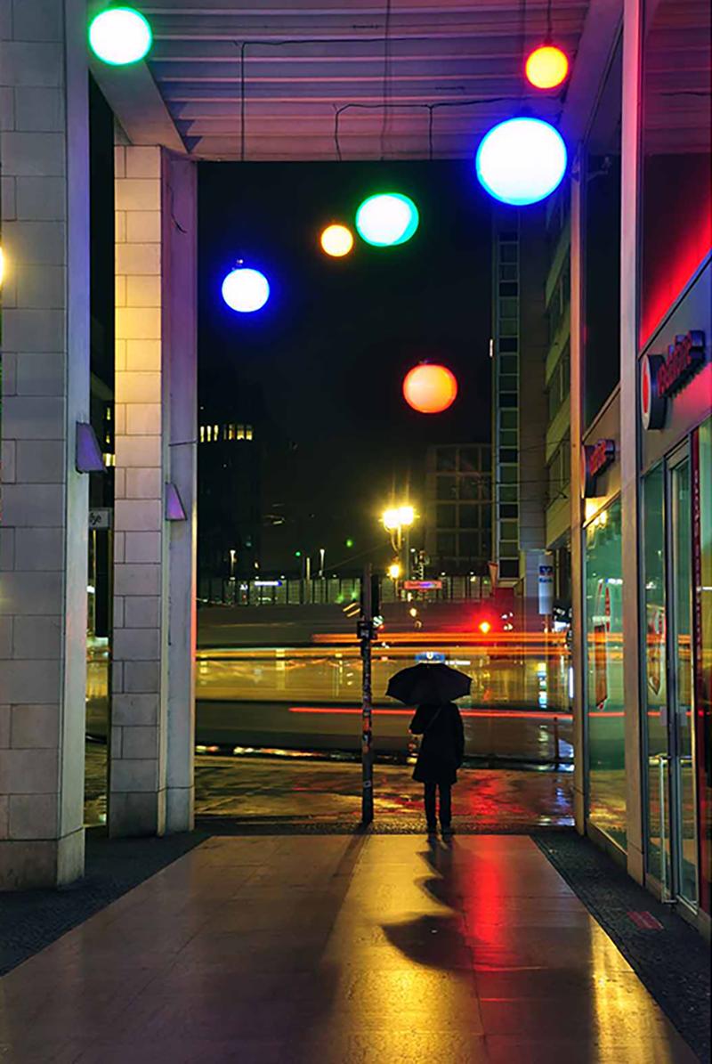 """""""Die Stadt bei Nacht"""", Heather Schmaedeke"""