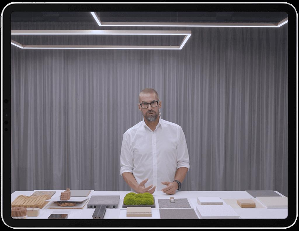 Videokurs »Gesunde Materialien« präsentiert von Hannes Bäuerle (raumprobe, Stuttgart)