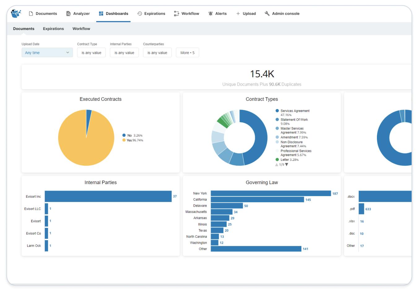 Evisort Contract Management Software