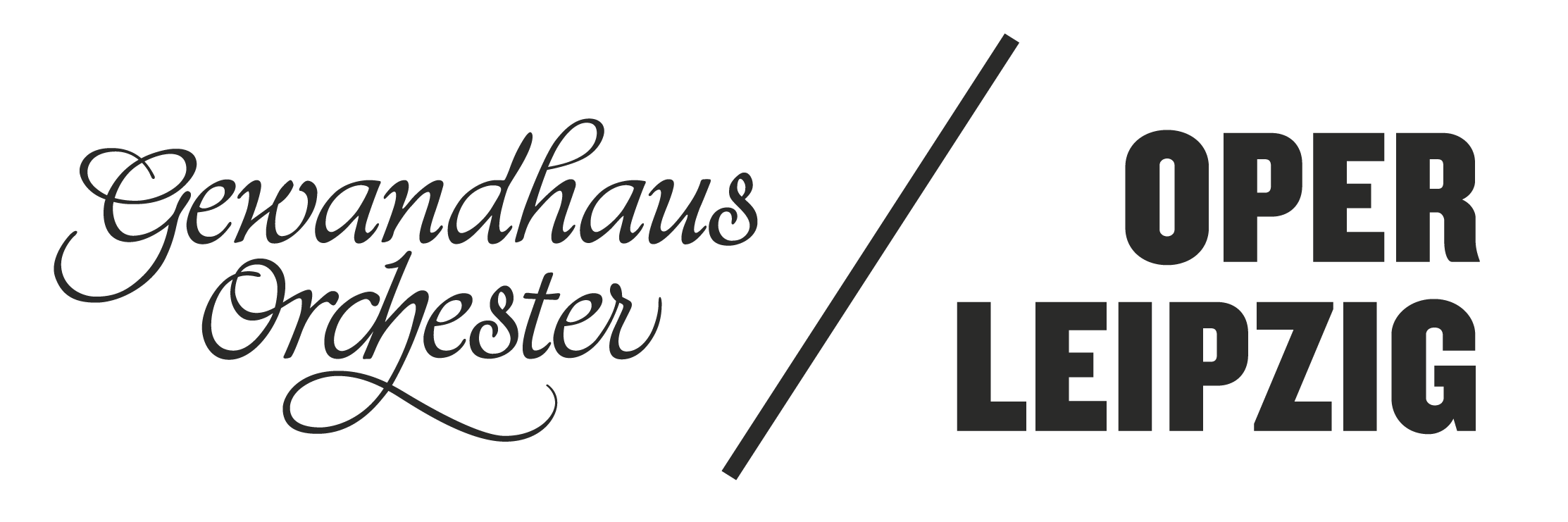 Oper Leipzig Gewandhaus Logo
