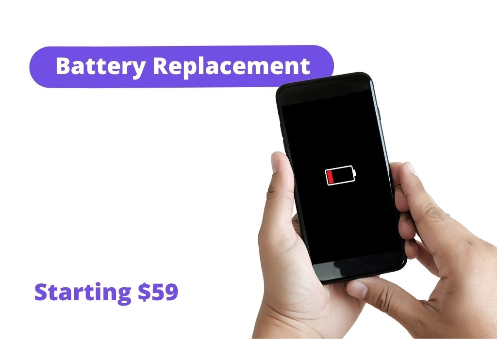 Battery replacement: Starting $59