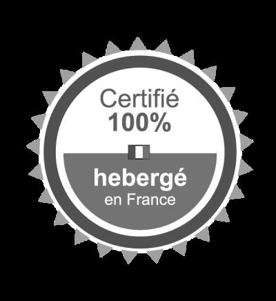 Icone certification site hébergé en france