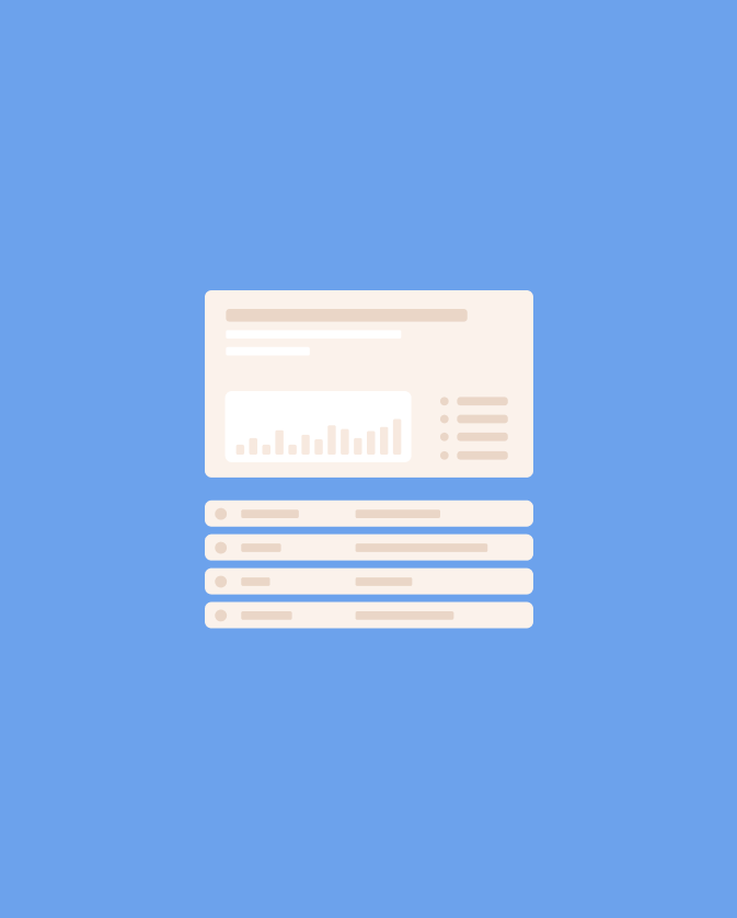 Frale présentation interface web fonds bleu