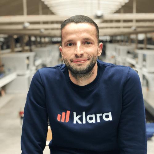 Nazim fondateur de Klara