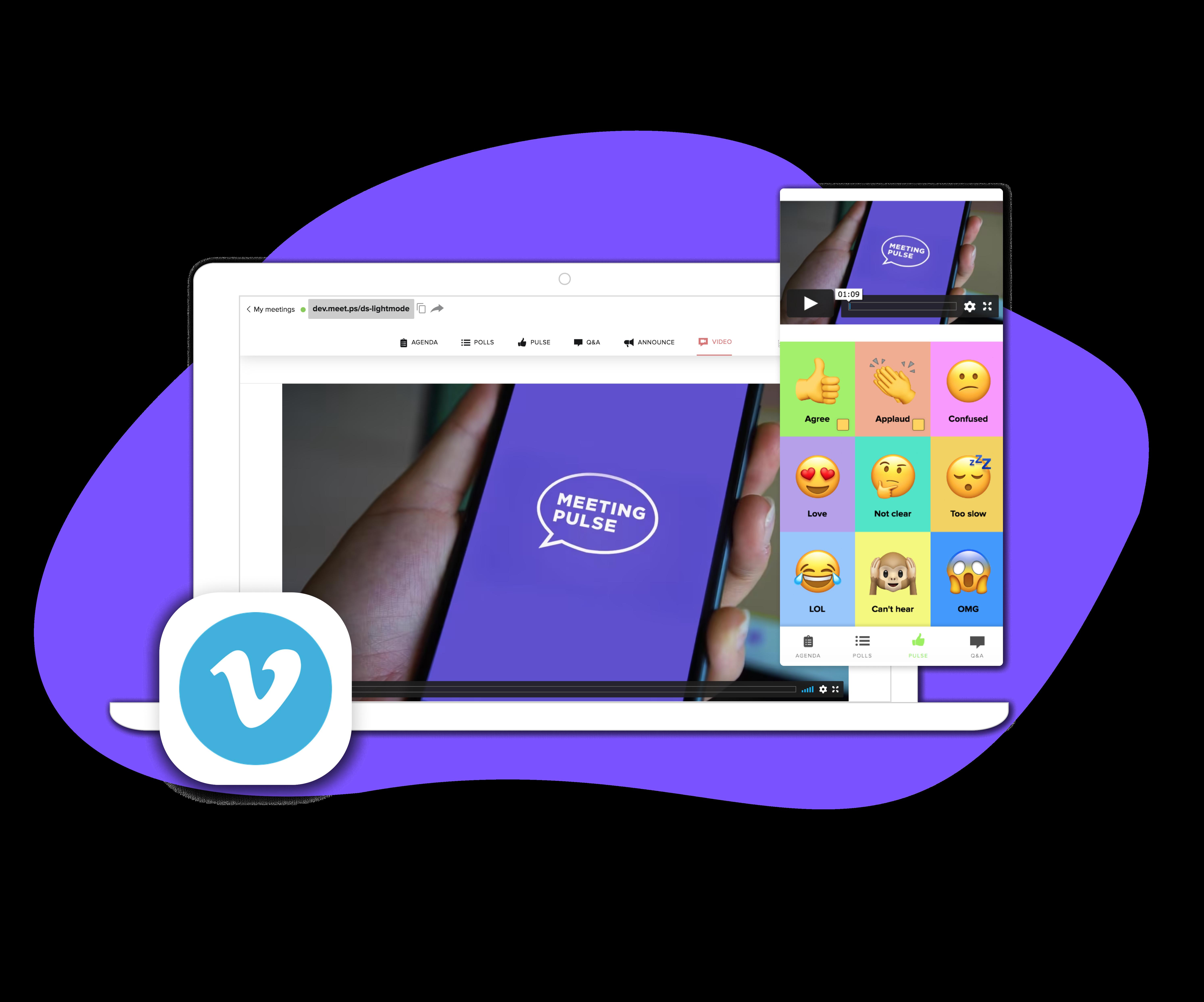 Vimeo+MeetingPulse