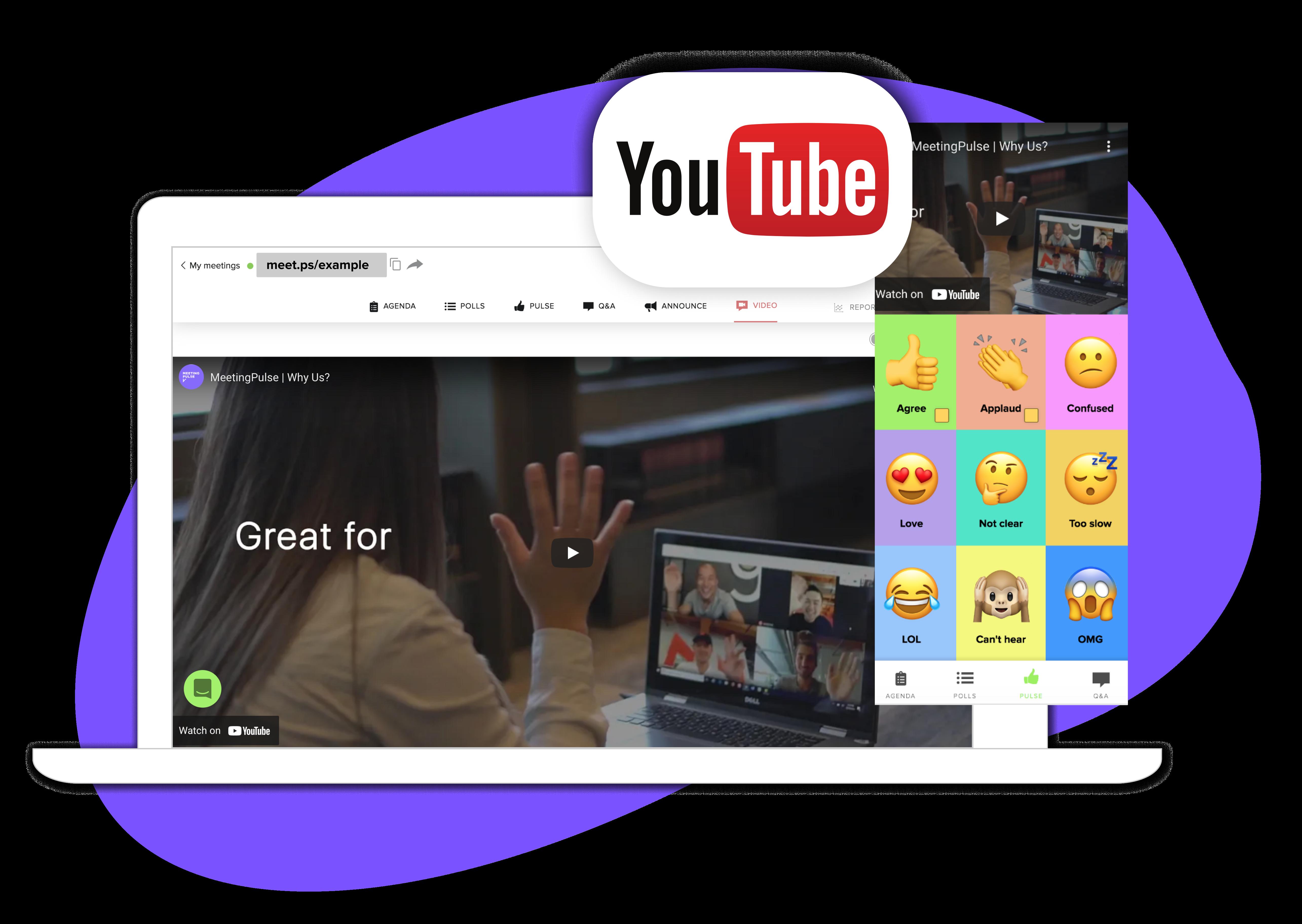 MeetingPulse + Youtube Image