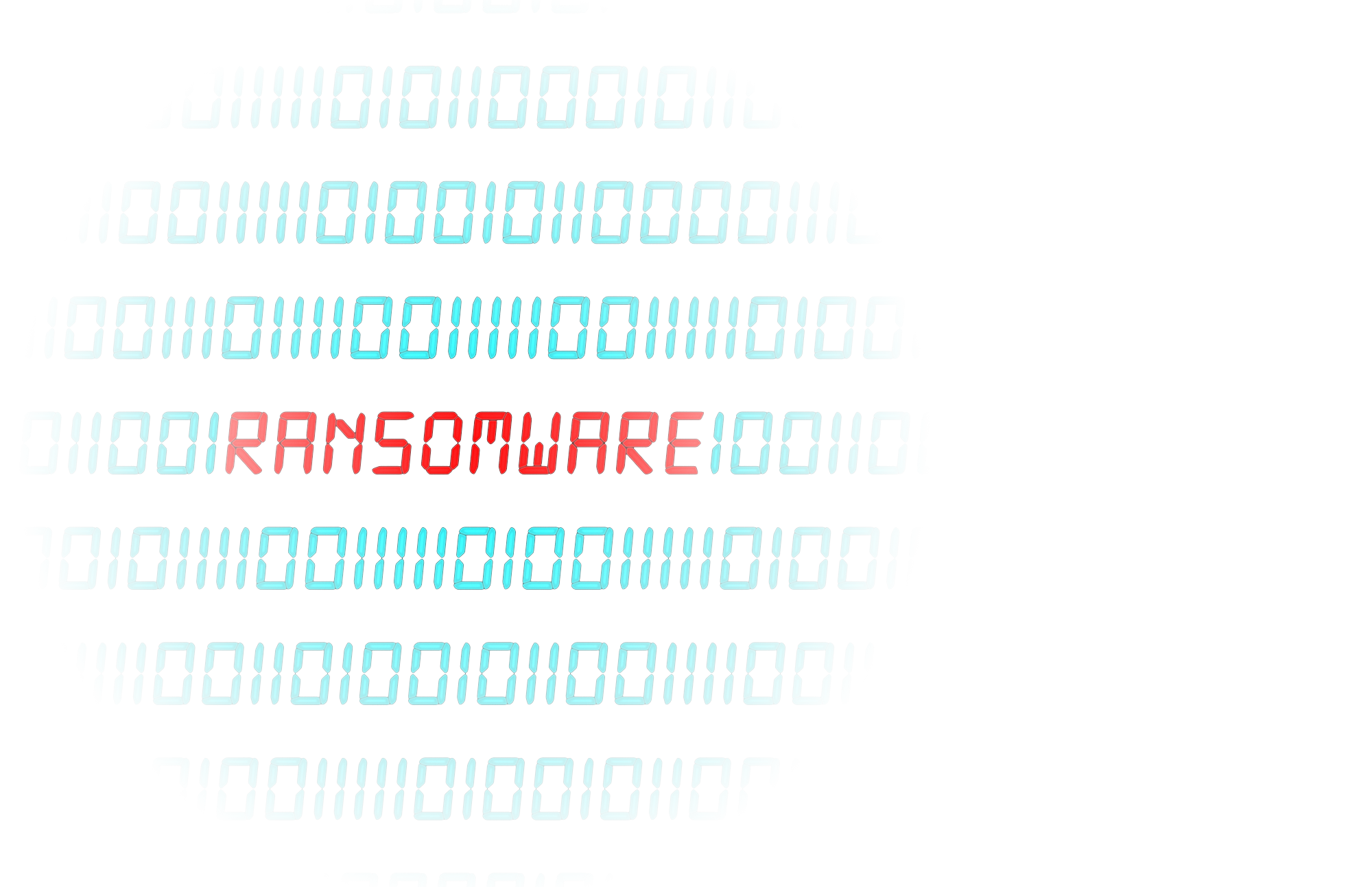 An ominous ransomware message