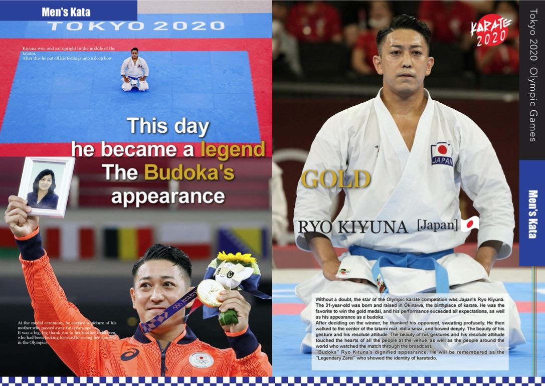 Without a doubt, the star of the Olympic karate competition was Japan's Ryo Kiyuna The 31-year-old was born and raised in Okinawa, the birthplace of karate. He was the favorite to win the gold medal, and his performance exceeded all expectations, as well as his appearance as a budoka (karate competitor).