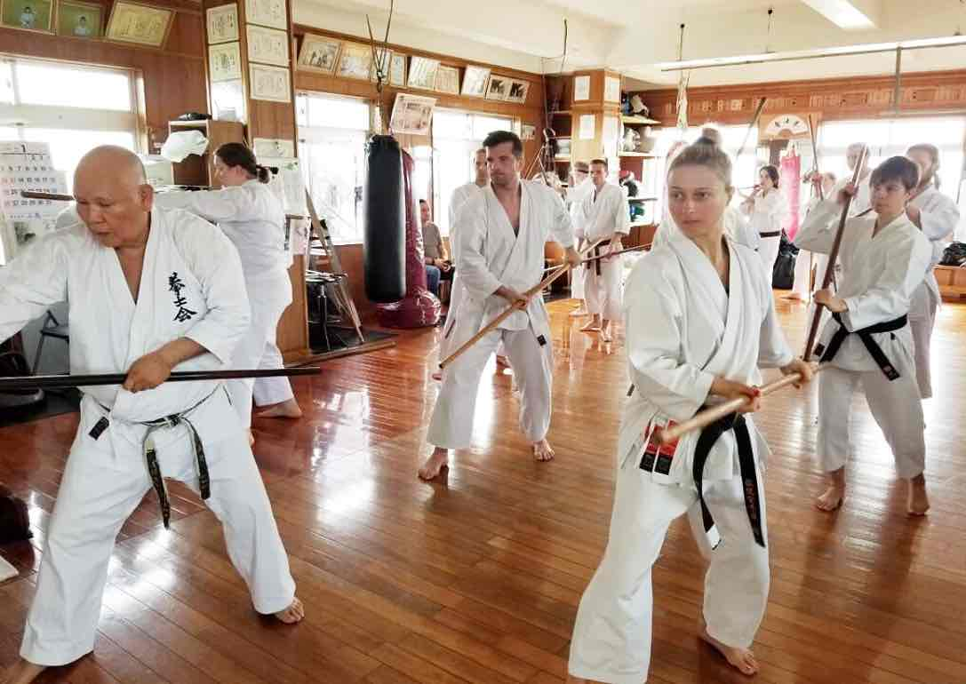 """Visting Okinawa """"the sacred birthplace of karate"""", is currently difficult or for some impossible.Although the damnd is higher than ever due to elevated interest in Olympic Sport Karate, there are no overseas customers due to the bad corona virus outbreaks globally."""