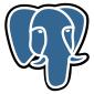 PostgresSQL logo (an elephant)