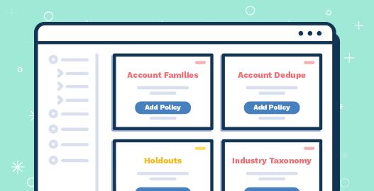 A fullcast.io sales planning UI design illustrating selecting policies