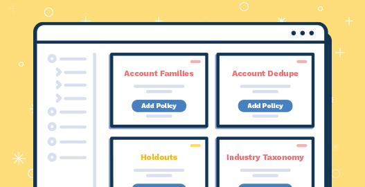 A fullcast.io sales planning UI design illustrating policies