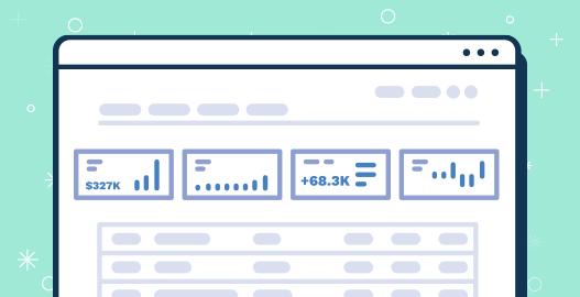 A fullcast.io sales planning UI design illustrating sales planning report