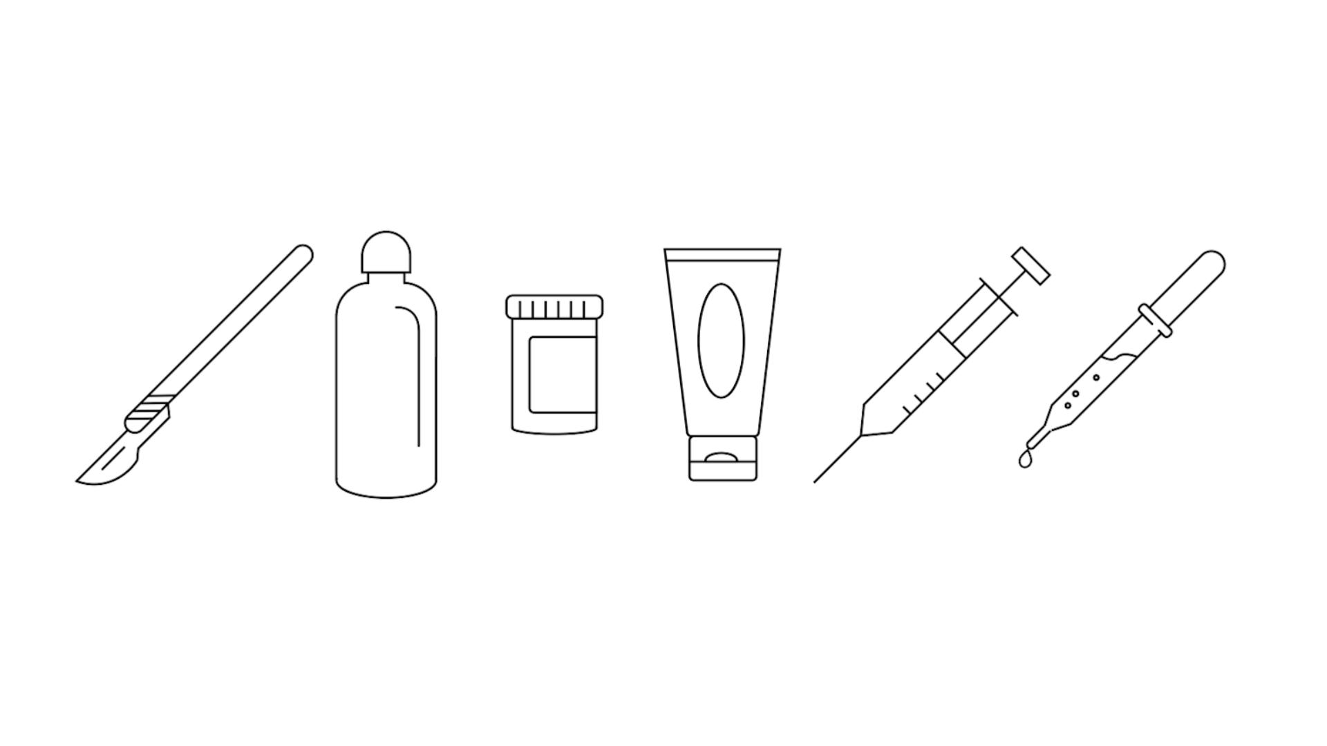 skin decision icons