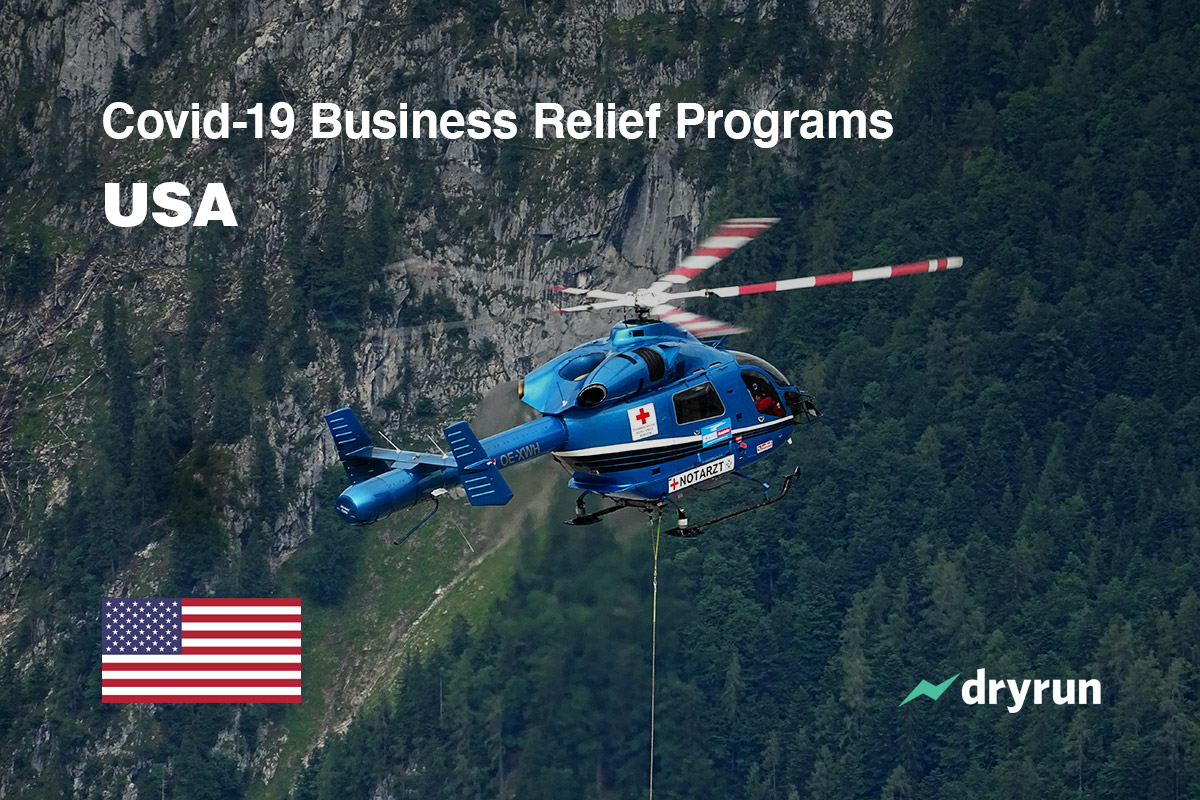 USA Small Business Covid-19 Relief Programs