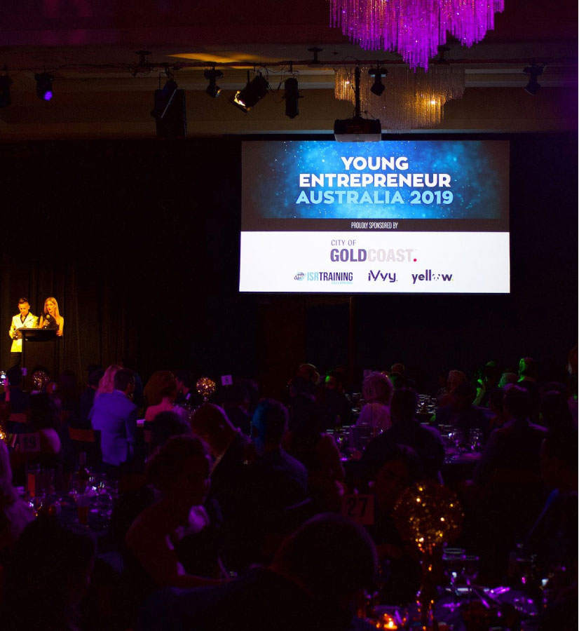 Image of the young entrepreneur of the year awards