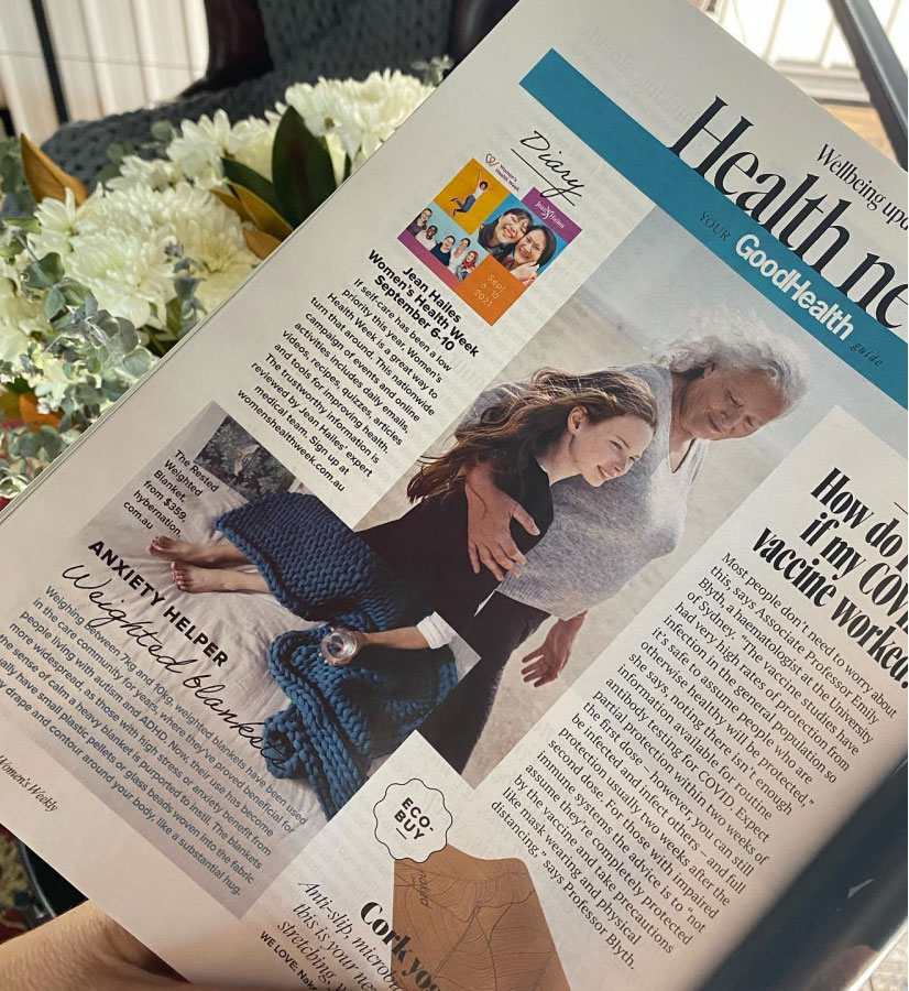 My Hybernation appearing in good health magazine
