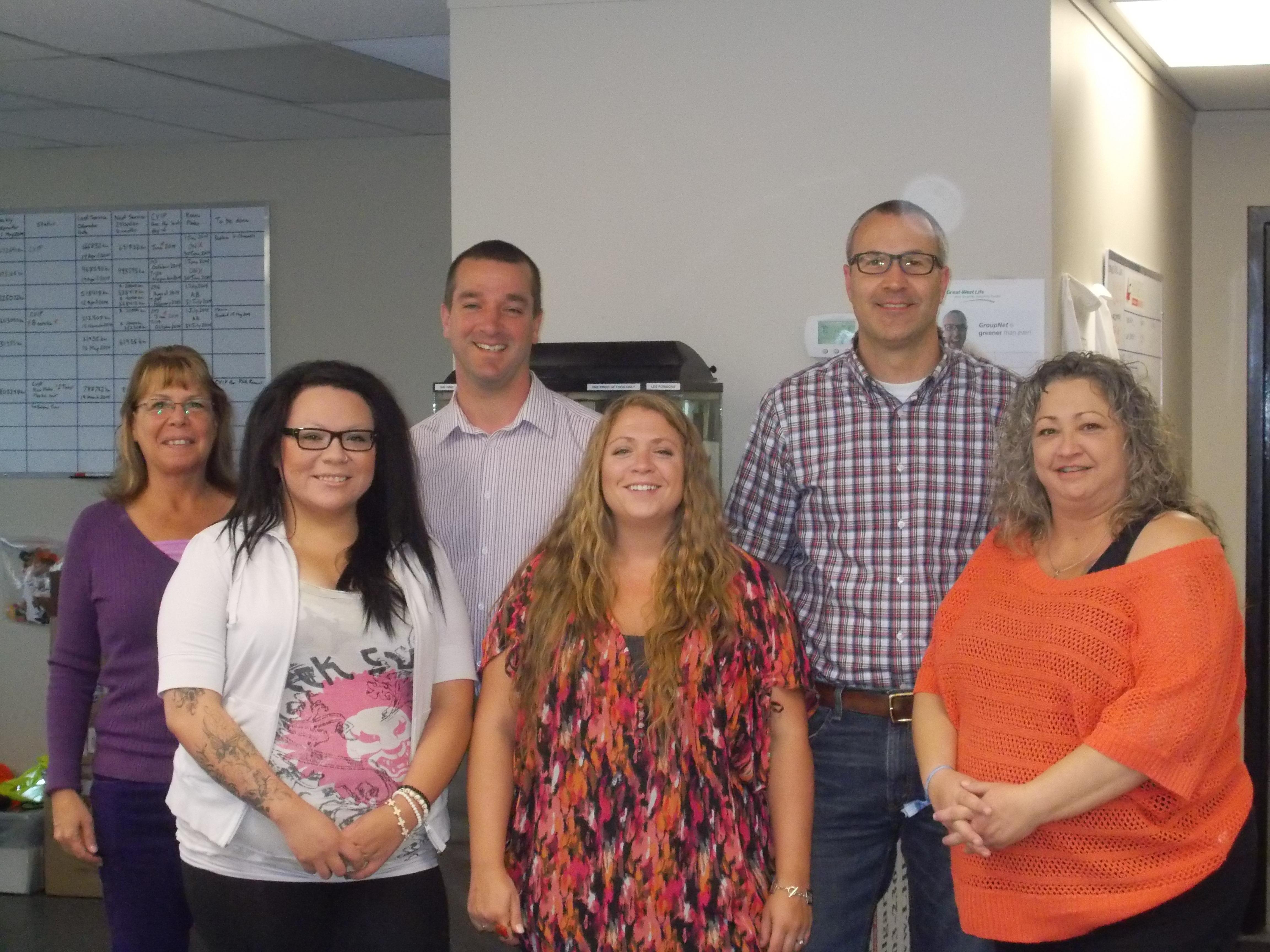 Calgary Office Team 05292014