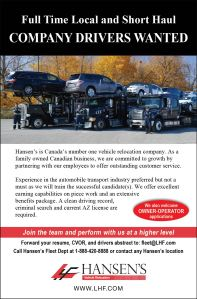 Drivers Wanted 08082014