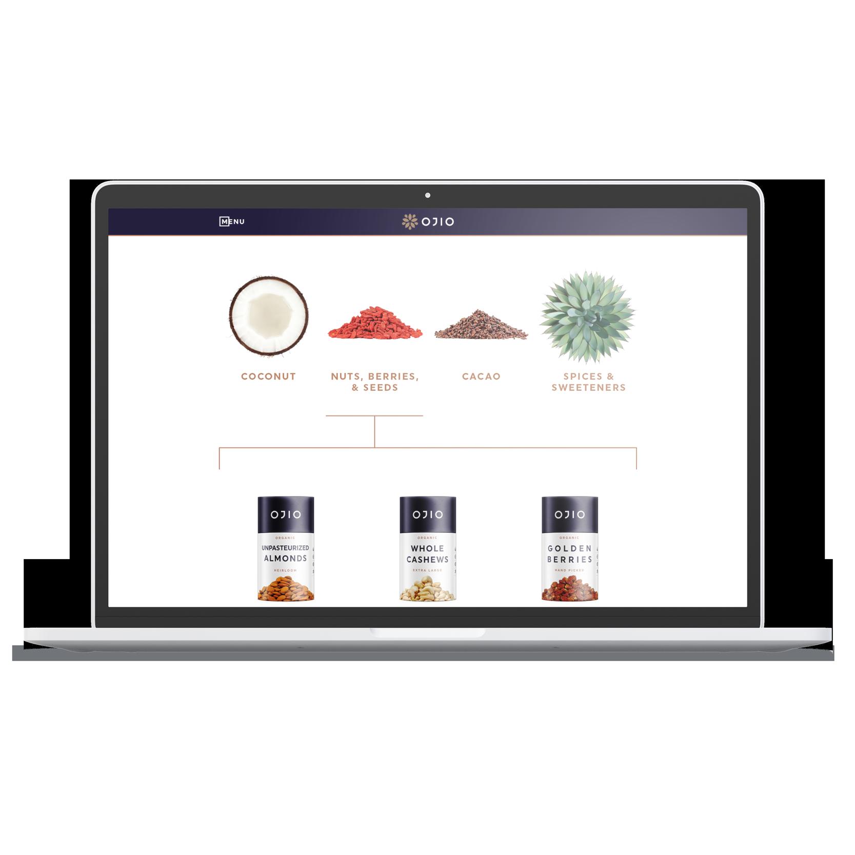 laptop desktop OJIO products item selection