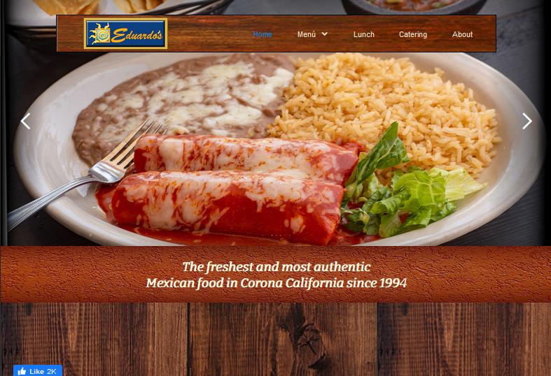 Eduardo's Mexican Restaurant Website