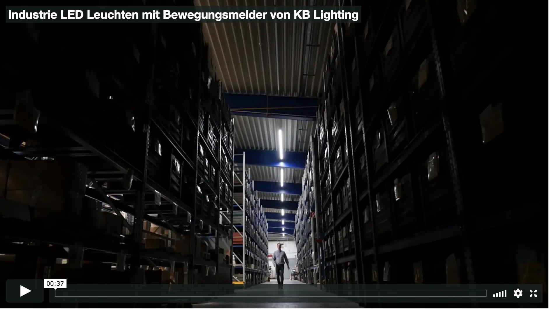 Videoplatzhalter KB Silverline.pro LED Leuchten mit Bewegungsmelder